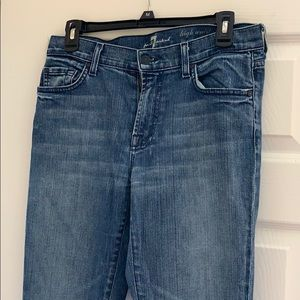 7 For All Mankind Highwaisted Roxanne Jeans